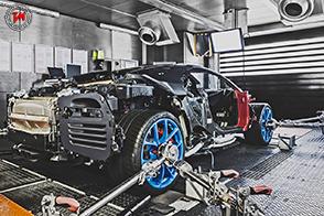 Vi spieghiamo come nasce la velocissima Bugatti Chiron !
