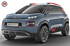 Citroen C-Aircross Concept : un SUV dalla forte personalità