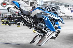 Hover Ride Design Concept : il futuro visto da BMW Motorrad e Lego