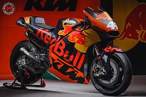 KTM svela la livrea della nuova MotoGP