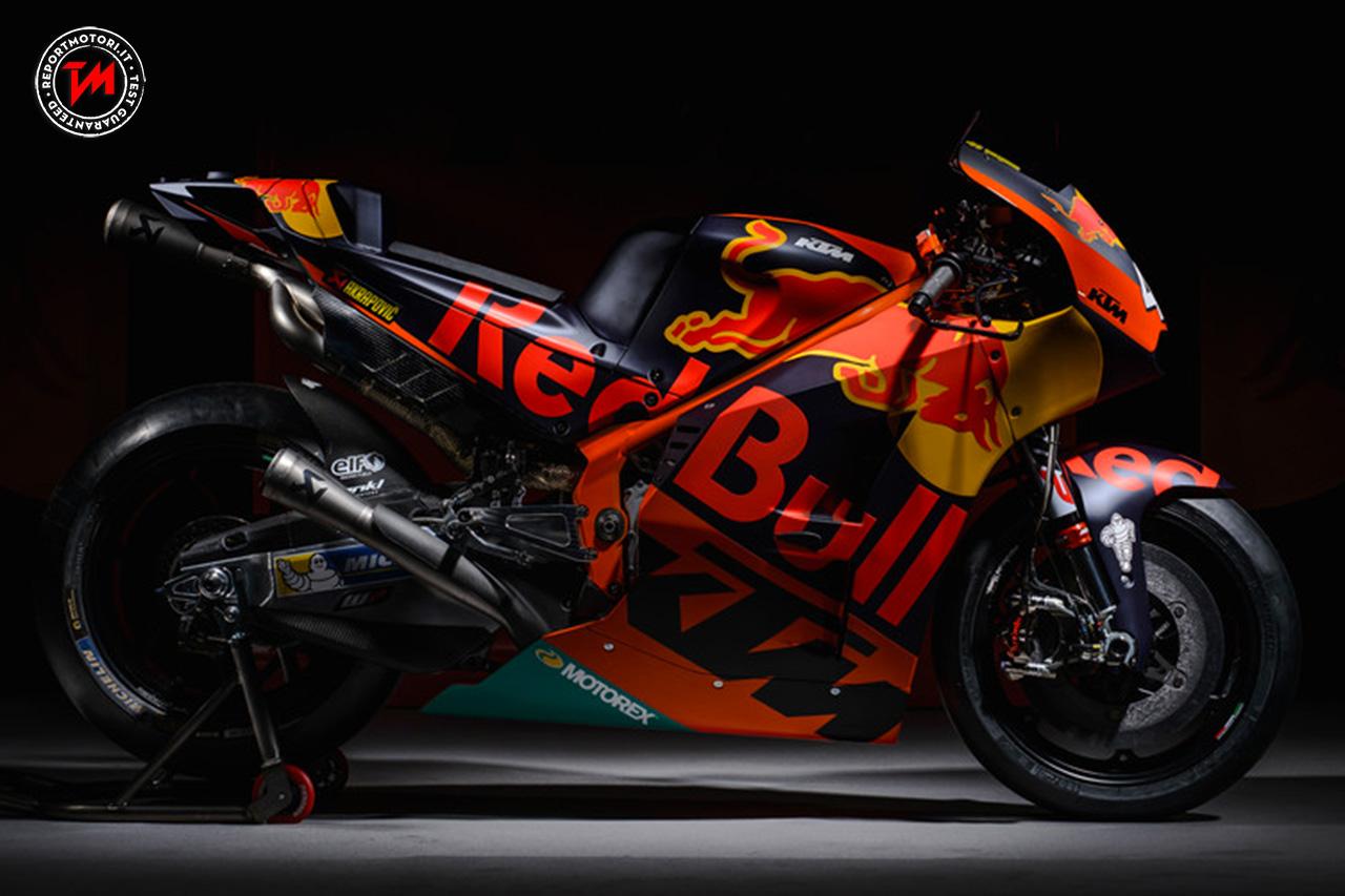KTM svela la livrea della nuova MotoGP di Espargaro e Bradl