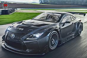 Lexus RC F GT3: una vettura da corsa nata per stupire