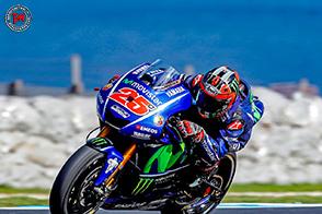 Maverick Vinales rinnova il contratto con il Team Movistar Yamaha MotoGP