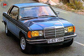 Mercedes-Benz C 123 Coupé : correva l'anno 1977