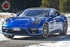 Goodyear Eagle F1 Asymmetric 3 su nuova Porsche Panamera