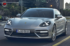 Porsche Panamera Turbo S E-Hybrid : quota 680 cavalli