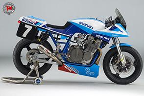 Il Team Classic Suzuki alla Endurance Legends di Donington Park