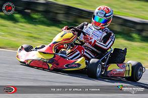 TKB 2017 GP Aprilia: vince De Fazio e vola in cima alla classifica