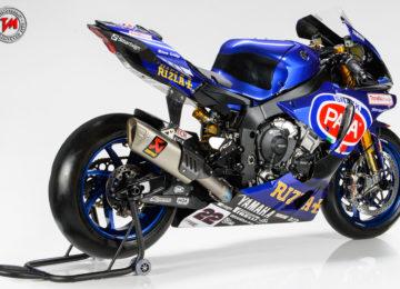 Il  team Yamaha WorldSBK presenta la nuova livrea 2017