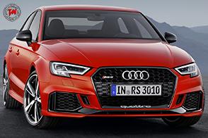 Nuova Audi RS 3 : Sportback e la Sedan non sono mai state così potenti