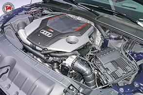 La nuova Audi RS 5 Coupé con interni in Alcantara