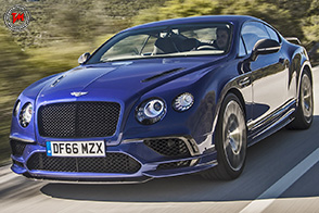 Bentley Continental Super Sports : oltre i 330 km/h!