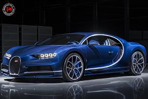 Bugatti Chiron Bleu Royal : a Ginevra esposto un esemplare esclusivo!