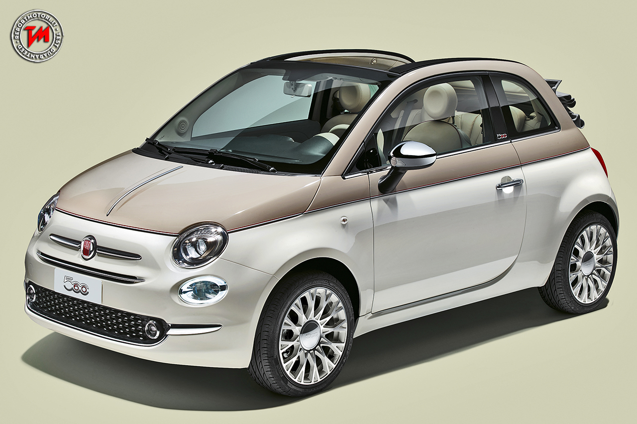 fiat 500 serie speciale dedicata al 60esimo anniversario. Black Bedroom Furniture Sets. Home Design Ideas