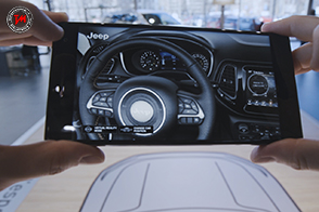 Jeep Compass Visualiser : l'applicazione innovativa
