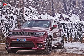 Winterproof Tour Europeo 2017 : sulla neve le Jeep emozionano