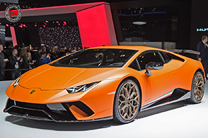 La Lamborghini Huracan Performante si aggiudica l'Innovation Award