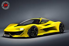 Nel 2019 la Hyper GT della Mclaren : avrà 3 posti come la F1