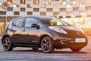 Nissan Leaf Black Edition : design e tecnologia all'avanguardia