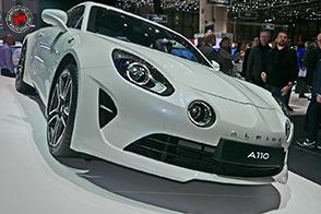 Al Salone dell'Auto di Torino la Alpine presenta la A110