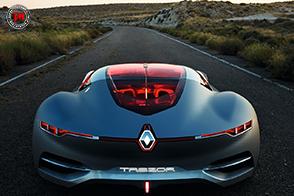 Renault Trezor conquista il premio Concept Car dell'Anno 2016