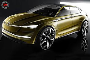 Skoda Vision E : un concept futuristico