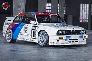 Una livrea storica quella della BMW M3 E30 del Team Schnitzer