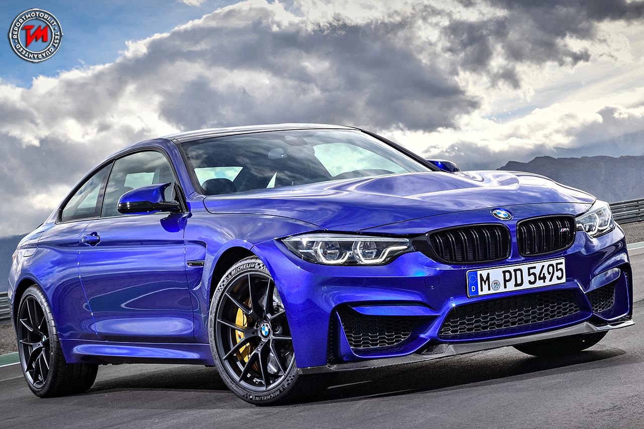 BMW M4 CS, nuova serie esclusiva del reparto Motorsport