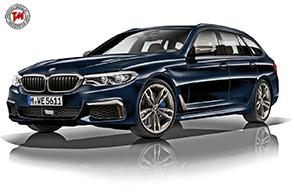 BMW M550d xDrive: 400 cavalli per un Diesel da primato