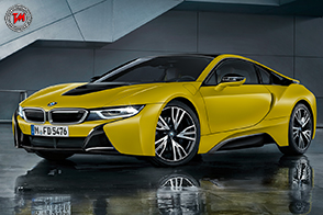 BMW i8 Protonic Frozen YellowEdition: una special edition unica!
