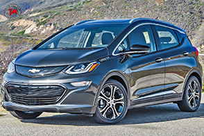 In America spopola il crossover elettrico: la nuova Chevrolet EV Bolt