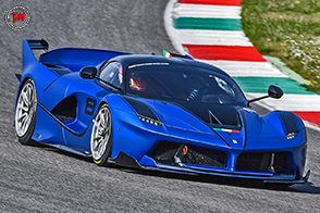 Al Mugello scendono in pista le Ferrari FXX K e 599XX