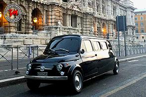 All'asta la Fiat 500 Limousine utilizzata in Zoolander 2