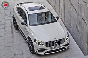 Mercedes-AMG GLC 63 4MATIC+ Coupé : turbo, V8 ed estetica da urlo!