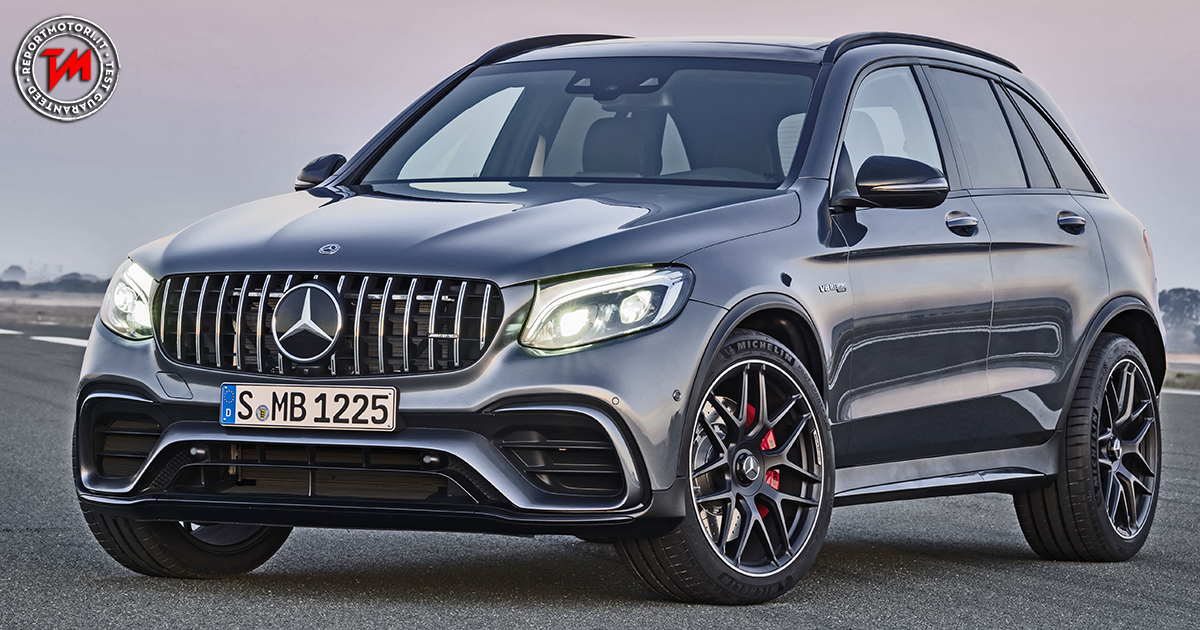 mercedes amg glc 63 4matic motore v8 biturbo. Black Bedroom Furniture Sets. Home Design Ideas