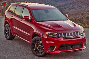 Jeep Grand Cherokee Trackhawk: prestazioni elevatissime!