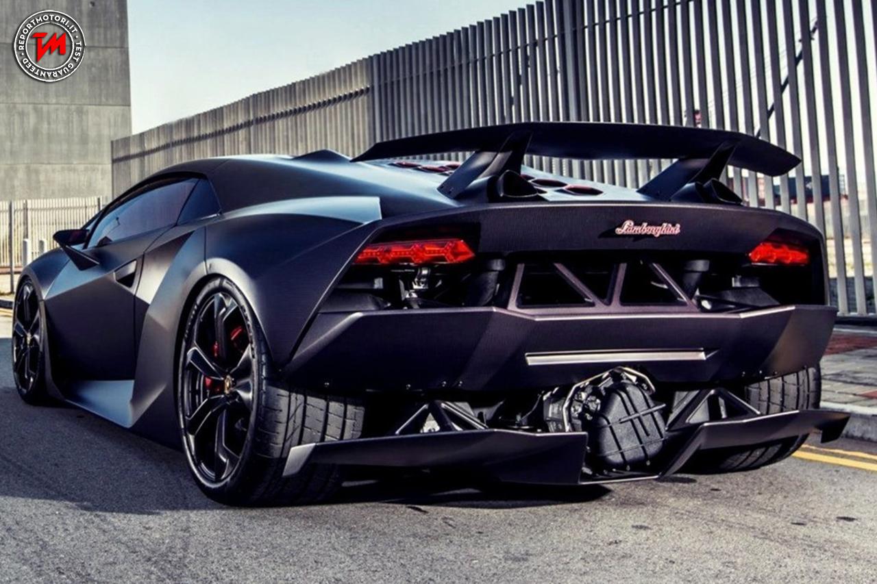 Un Autentico Oggetto Da Collezione La Lamborghini Sesto Elemento