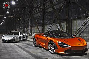 McLaren 720S : al via la produzione della velocissima supercar