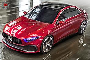 Il futuro è presente con la Mercedes-Benz Concept A Sedan