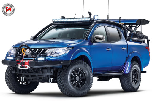 Mitsubishi L200 Desert Warrior,mitsubishi,l200,desert warrior,top gear, pick-up