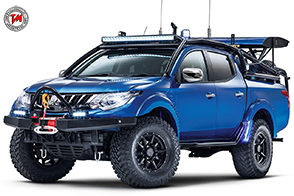 Un pick-up cattivo come pochi: è il Mitsubishi L200 Desert Warrior
