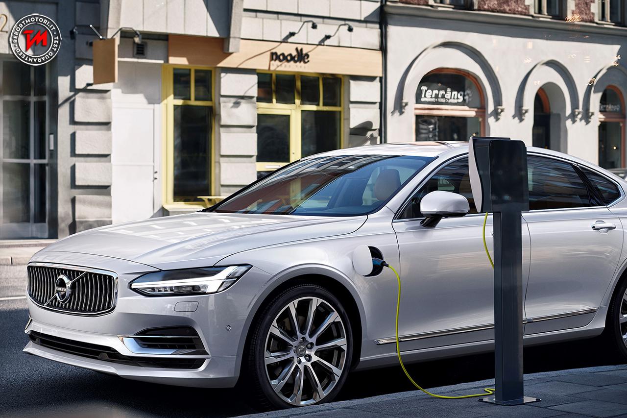 Volvo, la prima auto elettrica in Cina