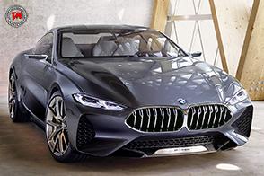 Al Concorso d'Eleganza Villa d'Este presentata la BMW Serie 8 Concept