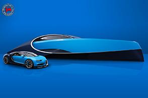 Bugatti Niniette 66: una barca non è mai stata così hyper!