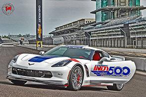 Alla Indianapolis 500 una Chevrolet Corvette Grand Sport da safety car