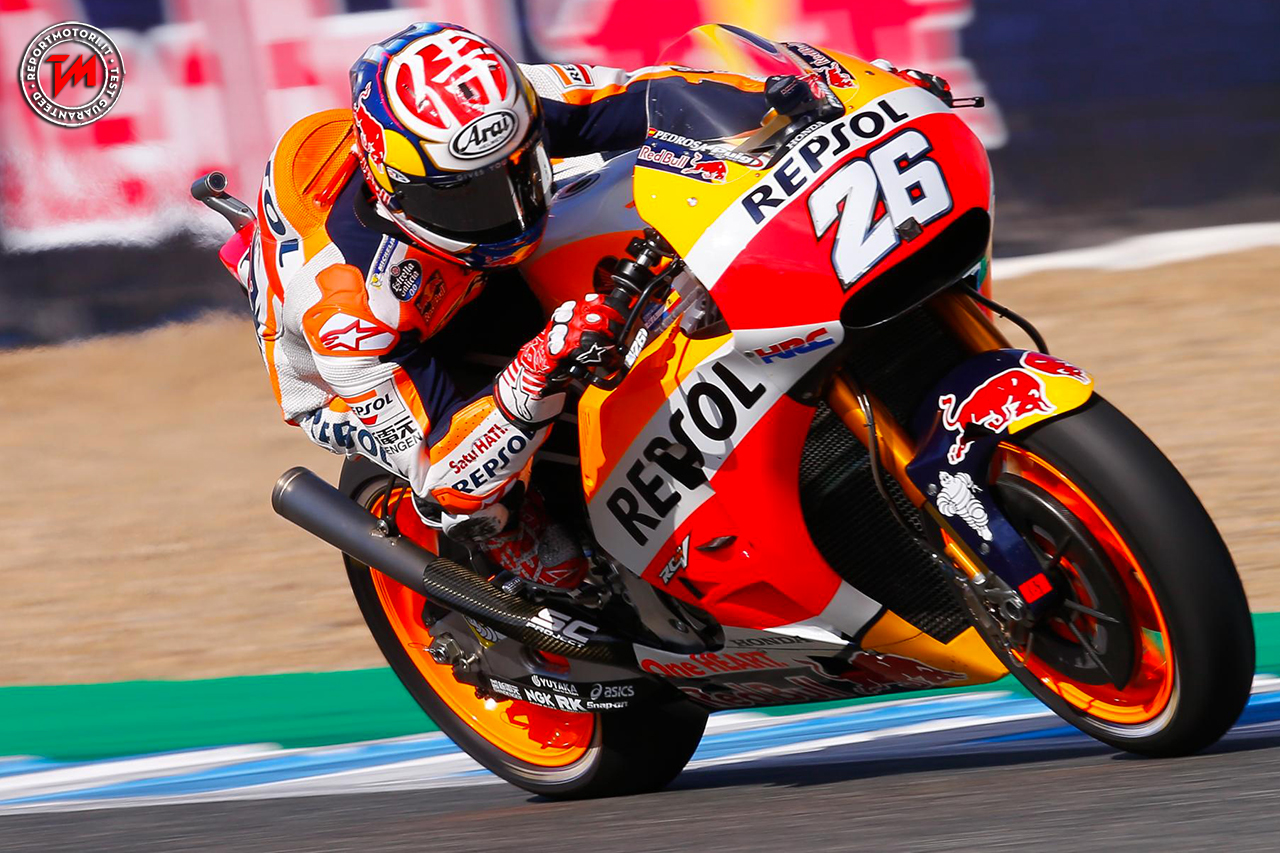 Motogp, Gp Catalunya: Pedrosa in pole davanti a Lorenzo