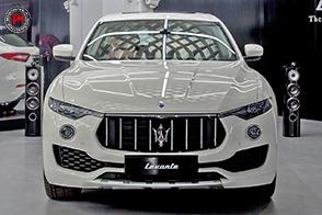 Maserati al Salone dell'Auto di Torino con Levante e Ghibli
