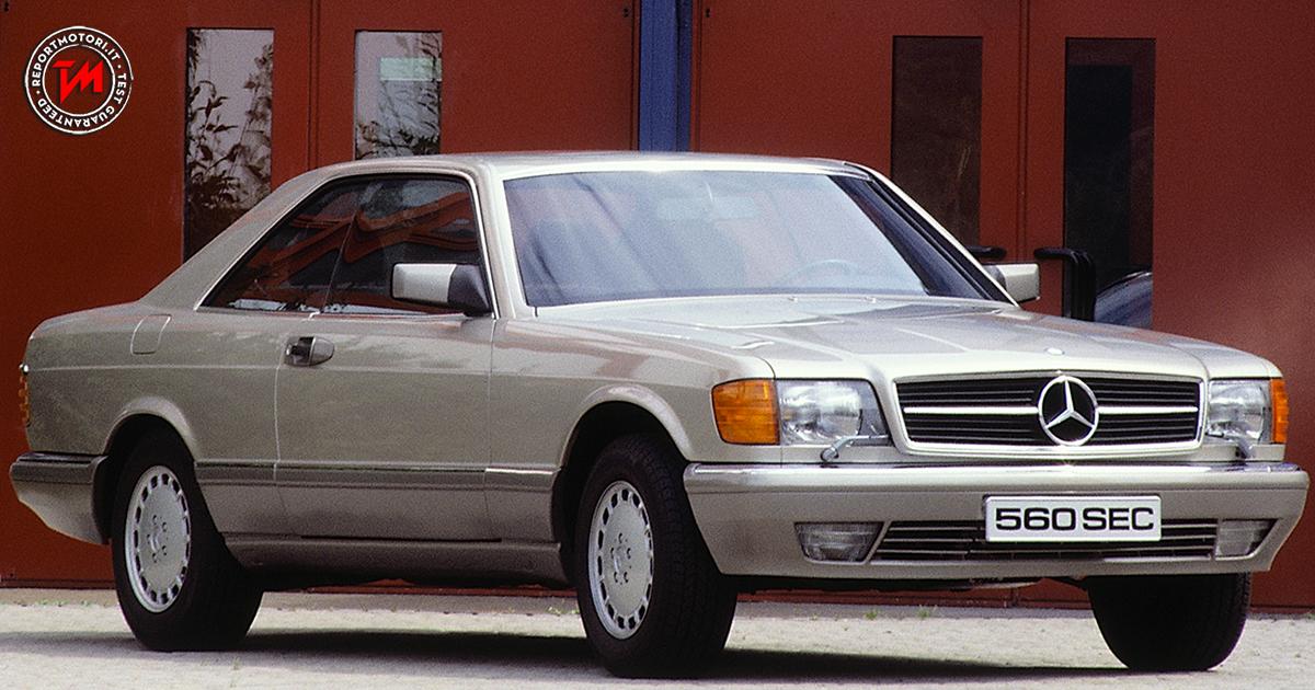 I love 80 s dalla mercedes benz 560 sec alla e coup for Mercedes benz 80s