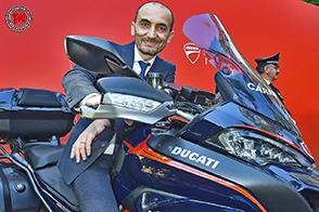 Al G7 di Taormina il debutto delle nuove Ducati dell'Arma Carabinieri
