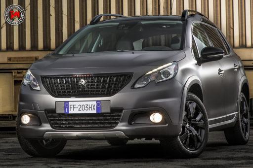 Peugeot 2008 matt black
